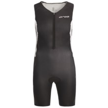 Orca Triathlon Race Suit - Sleeveless (For Men) in Black/White - Closeouts