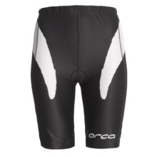 Orca Triathlon Shorts (For Women) in Black/White - Closeouts