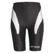 Orca Triathlon Shorts (For Women) in Black/White - Closeouts