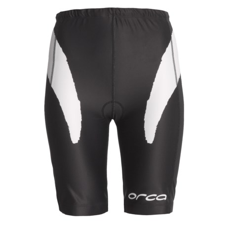 Orca Triathlon Shorts (For Women) in Black/White