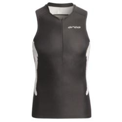 Orca Triathlon Tank Top (For Men) in Black/White