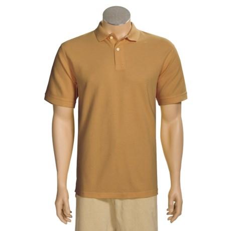 Organic Cotton Polo Shirt - Short Sleeve (For Men)