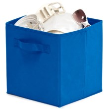 Organize It! Simple Storage Folding Cubes - Large, 2-Pack in Blue - Overstock