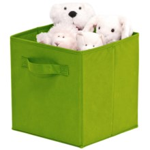 Organize It! Simple Storage Folding Cubes - Large, 2-Pack in Green - Overstock
