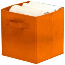 Organize It! Simple Storage Folding Cubes - Large, 2-Pack in Orange - Overstock