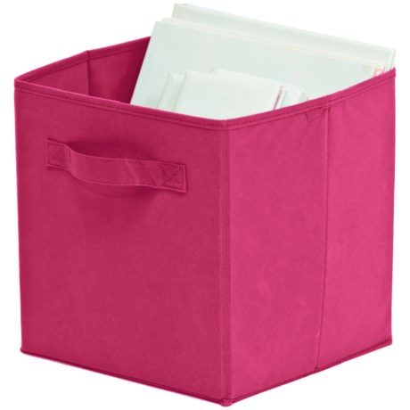 Organize It! Simple Storage Folding Cubes - Large, 2-Pack in Pink
