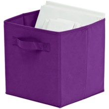 Organize It! Simple Storage Folding Cubes - Large, 2-Pack in Purple - Overstock