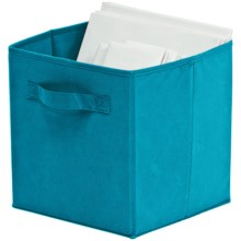 Organize It! Simple Storage Folding Cubes - Large, 2-Pack in Turquoise - Overstock