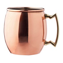 Original Moscow Mule Mug - Copper, 16 fl.oz. in Copper / Brushed Nickel - Overstock