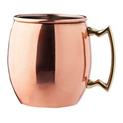 Original Moscow Mule Mug - Copper, 16 fl.oz. in Copper / Brushed Nickel