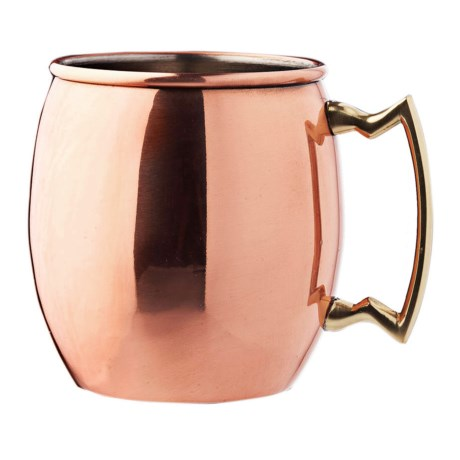 Original Moscow Mule Mug - Copper, 16 fl.oz. in Copper / Brushed Nickel