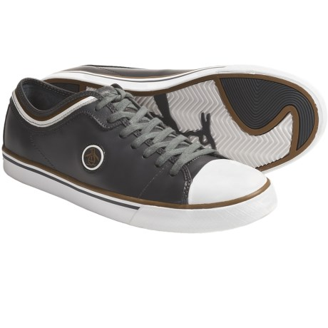 Original Penguin Penguin Lo Shoes - Leather (For Men) in Dark Shadow