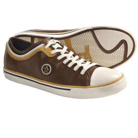 Original Penguin Penguin Lo Shoes - Leather (For Men) in Toffee