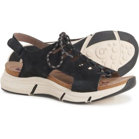 Ormond Sandals - Nubuck (For Women) - BLACK (6 ) -  Bionica