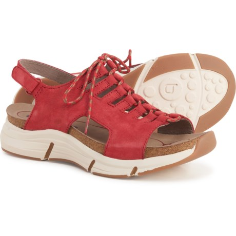 Ormond Sandals - Nubuck (For Women) - PARADE RED (6 ) -  Bionica