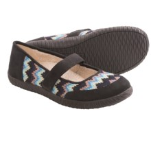 Orthaheel Alta Mary Jane Slippers (For Women) in Black - Closeouts
