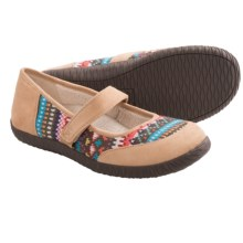 Orthaheel Alta Mary Jane Slippers (For Women) in Tan - Closeouts