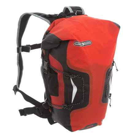 Ortlieb Airflex 11 Backpack - 11L in Signal Red/Black - Closeouts