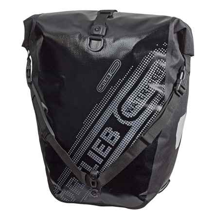 Ortlieb Back-Roller Black N' White Panniers - Waterproof, Pair in Black - Closeouts