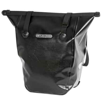 Ortlieb Bike Shopper QL2.1 Pannier - Waterproof in Black - Closeouts