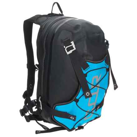Ortlieb COR 13 Backpack - 13L in Black/Ocean Blue - Closeouts