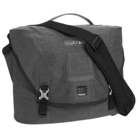 Ortlieb Courier Bag - Waterproof, Medium in Pepper - Closeouts