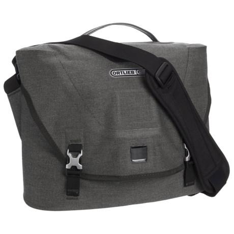 Ortlieb Courier Bag - Waterproof, Medium in Pepper