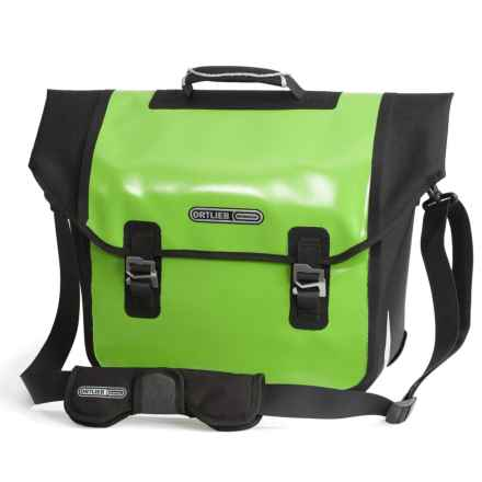 Ortlieb Downtown QL2.1 Pannier - Waterproof in Lime/Black - Closeouts