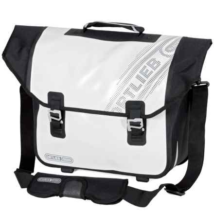 Ortlieb Downtown QL3 Pannier in White/Black - Closeouts