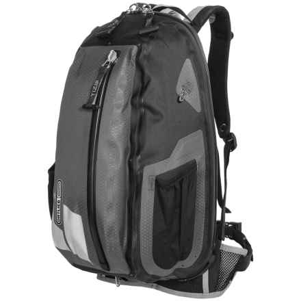 Ortlieb Flight Backpack - 22L in Black/Slate - Closeouts