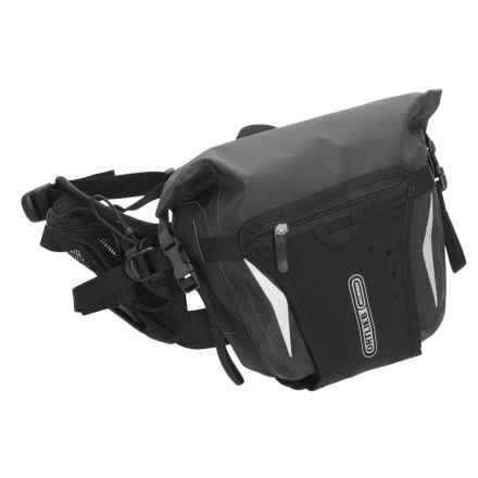 Ortlieb Hip Pack 2 Waist Pack - 6L in Slate/Black - Closeouts