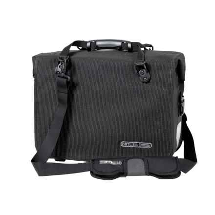 Ortlieb Office-Bag High-Visibility QL3 Bag in Black - Closeouts