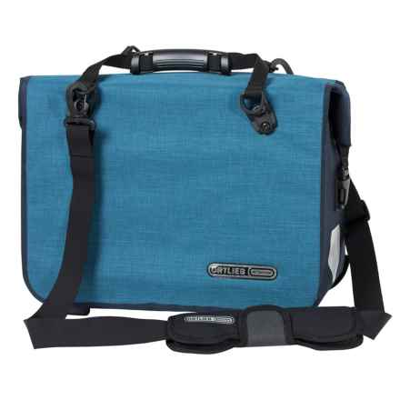 Ortlieb Office QL3.1 Cycling Bag - Waterproof in Denim/Steel Blue - Closeouts