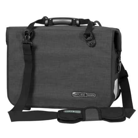Ortlieb Office QL3.1 Cycling Bag - Waterproof in Granite/Black - Closeouts