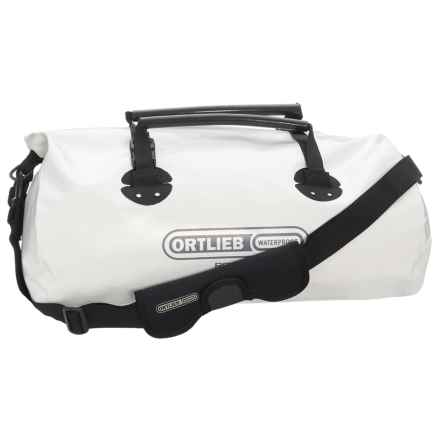 Ortlieb Rack Pack49 Dry Bag - 49L in White/Black - Closeouts