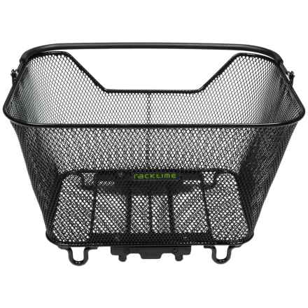 Ortlieb Racktime Baskit Bike Basket - Large in Black - Closeouts