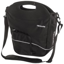 Ortlieb Racktime Buy-It QL1 Pannier Shopping Bag in Bill Black - Closeouts