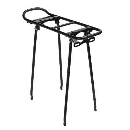 Ortlieb Racktime Fold-It Bike Rack in Black - Closeouts