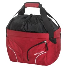 Ortlieb Racktime Handleit Bag in Rachel Red - Closeouts