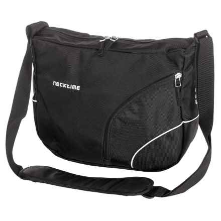 Ortlieb Racktime Shoulderit Front Bike Bag in Bill Black - Closeouts