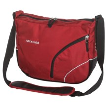 Ortlieb Racktime Shoulderit Front Bike Bag in Rachel Red - Closeouts