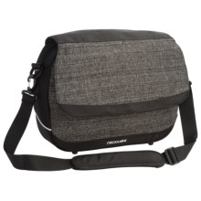 Ortlieb Racktime Work-It Wide QL3 Office Bag in Urban Grey - Closeouts