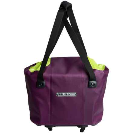 Ortlieb Rear Basket - Waterproof, Large in Purple/Light Green - Closeouts