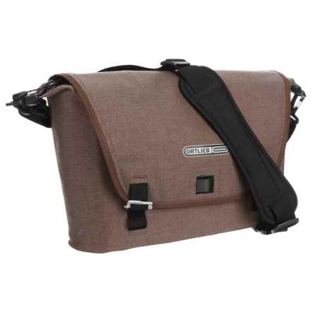 Ortlieb Reporter Urban Messenger Bag - Medium in Coffee - Closeouts