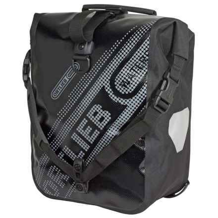 Ortlieb Sport Roller Black N' White Pannier - Waterproof in Black - Closeouts