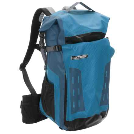 Ortlieb Track 35L Backpack - Waterproof in Ocean Blue/Steel Blue - Closeouts