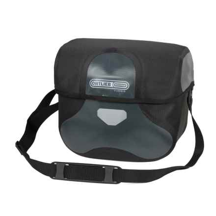 Ortlieb Ultimate 6 Classic Handlebar Bag - Large in Asphalt/Black - Closeouts