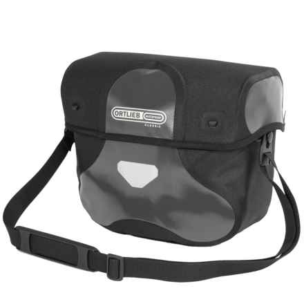 Ortlieb Ultimate 6 Classic Handlebar Bag - Medium in Asphalt/Black - Closeouts