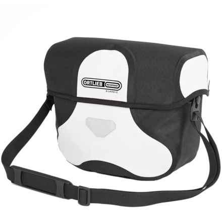 Ortlieb Ultimate 6 Classic Handlebar Bag - Medium in White/Black - Closeouts
