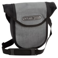 Ortlieb Ultimate 6 Compact Handlebar Bag in Graphite/Black - Closeouts